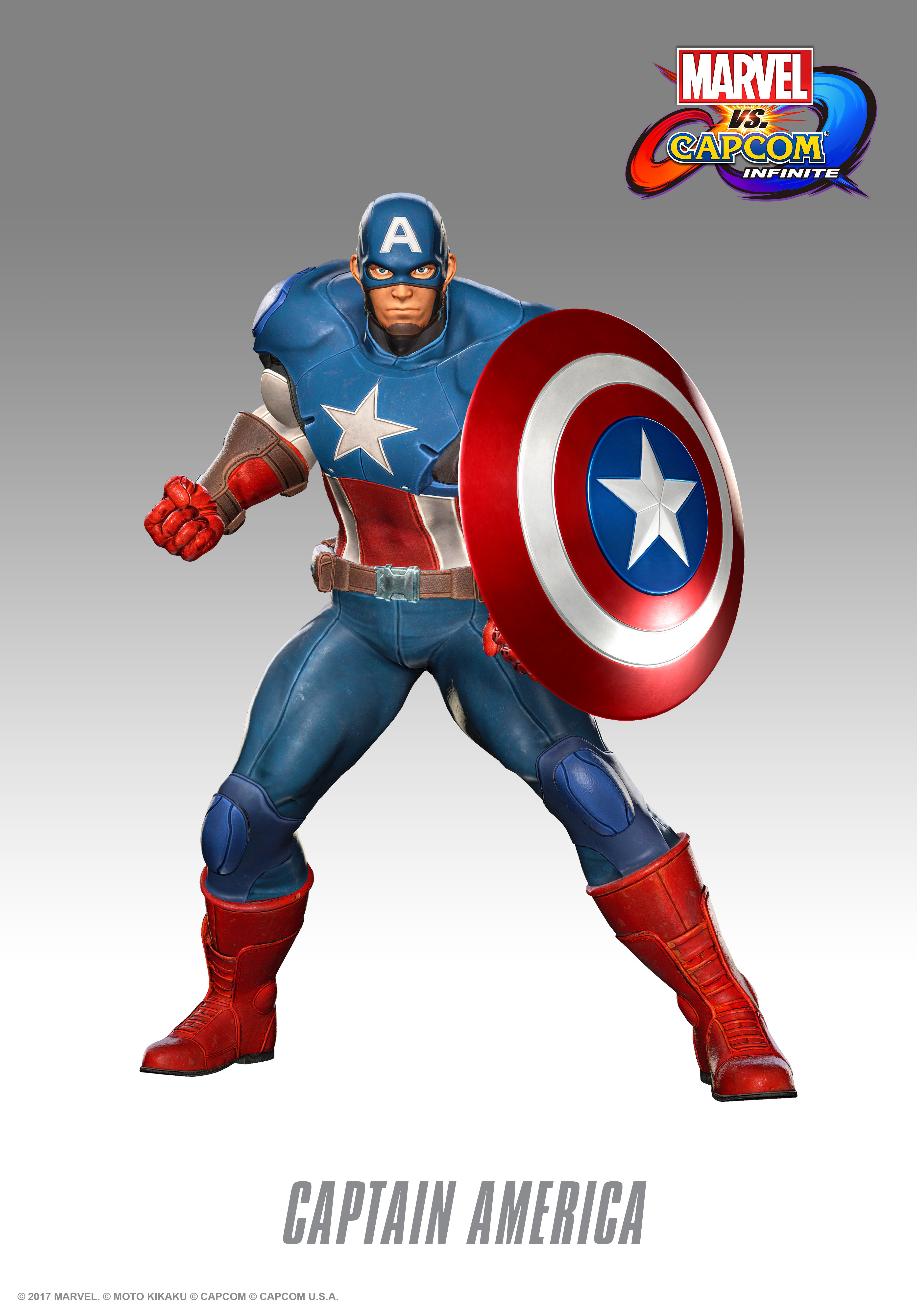 captain america from the marvel video games. Black Bedroom Furniture Sets. Home Design Ideas