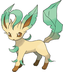 Leafeon Pokemon on Game-Art-HQ