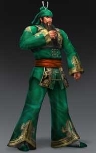Guan Yu DW8 DW1 Costume DLC Promo Art