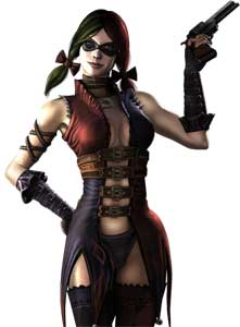Harley Quinn Injustice Gods Among Us Official Art Render