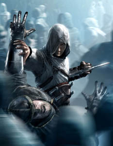 Altair Assassins Creed Poster Art