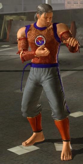 Baek Doo San Tekken 6 BR Third Outfit