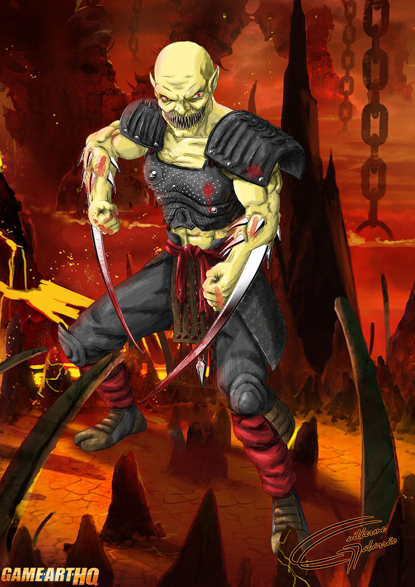 Baraka Mortal Kombat vs DC MK Art Tribute