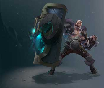 Braum League of Legends Concept Art