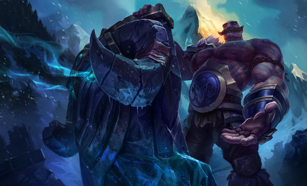 Braum LoL Splash Art