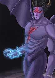 Devil from Tekken 2 Art