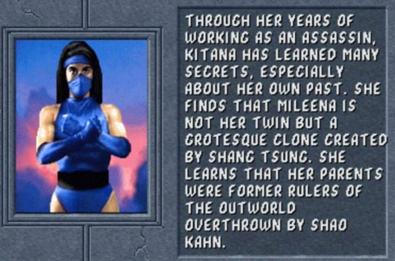 Kitana Mortal Kombat 2 Ending