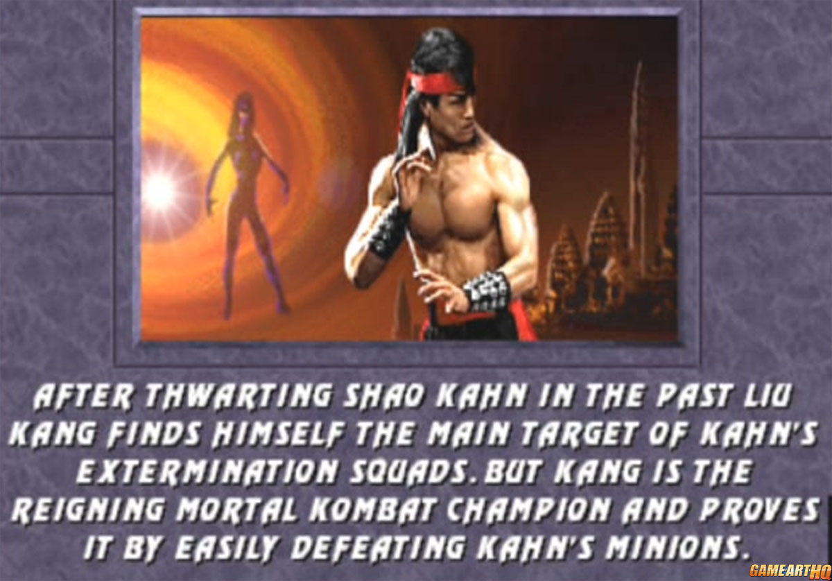 Liu Kang Mortal Kombat 3 Ending 1
