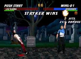Stryker Mortal Kombat 3 Wins